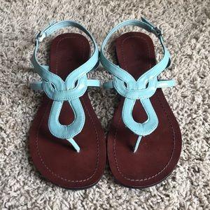 Kelly & Katie Blue Sandals Size 8